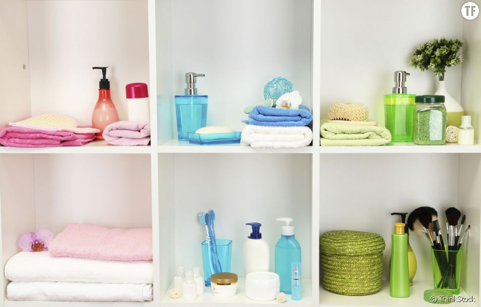 Des astuces originales pour ranger votre salle de bains.