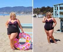 """La photo de cette blogueuse """"plus size"""" en bikini fait le buzz... malgré elle"""