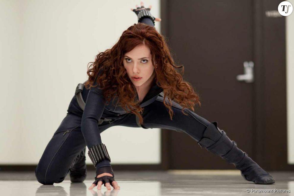 Scarlett Johansson alias la Veuve Noire