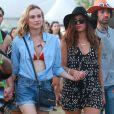 Nina Dobrev et Diane Kruger à Coachella 2015