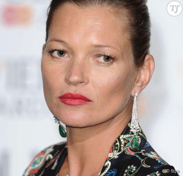 Le rouge à lèvres rouge de Kate Moss