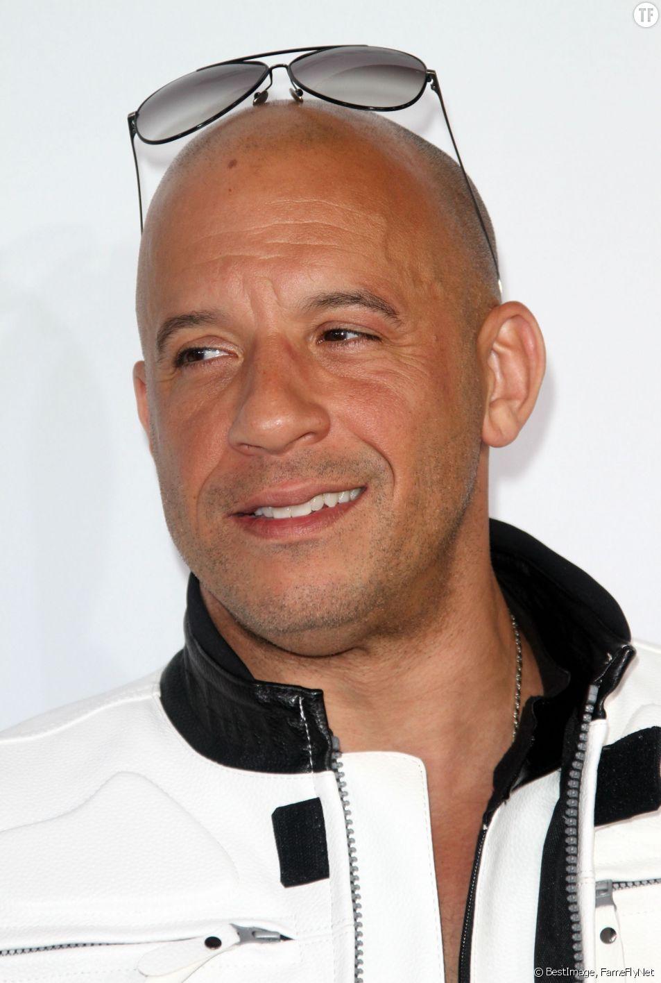 """Vin Diesel à la Première américaine de """"Fast & Furious 7"""""""