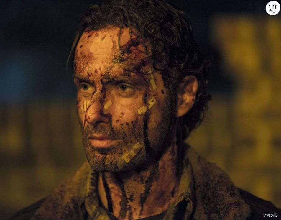 Andrew Lincoln, alias Rick Grimes dans Walking Dead