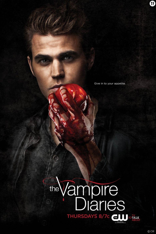 Poster de la série Vampire Diaries en attendant la saison 12