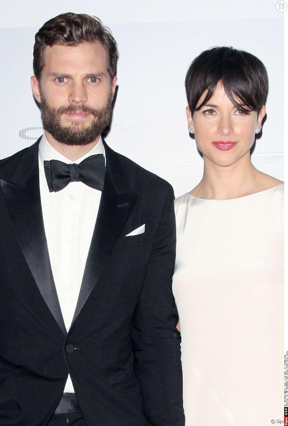 Jamie Dornan et sa femme Amelia  à la 72ème cérémonie annuelle des Golden Globe Awards à Beverly Hills, le 11 janvier 2015.
