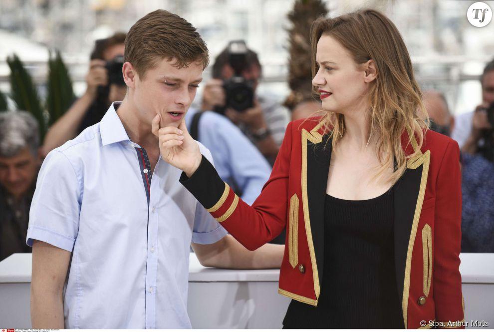 Rod Paradot et Sara Forestier à Cannes le 13 mai.