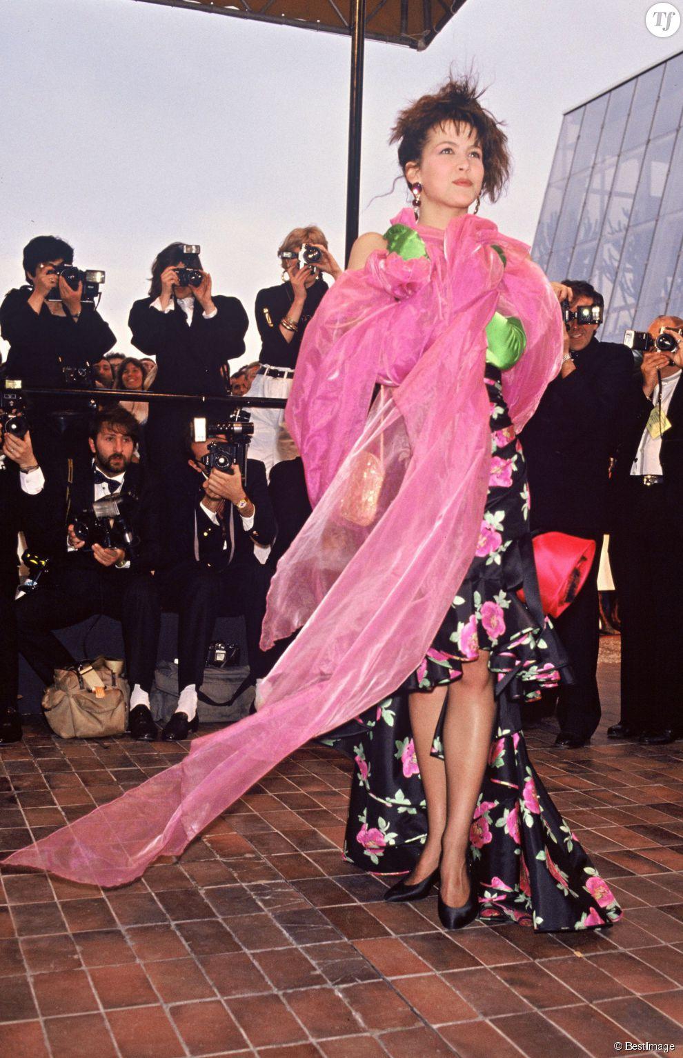 Sophie Marceau au Festival de Cannes en 1988