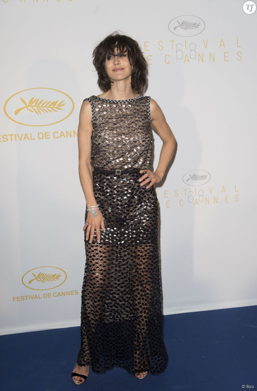 Sophie Marceau lors de la cérémonie d'ouverture du 68e Festival de Cannes le 13 mai 2015.