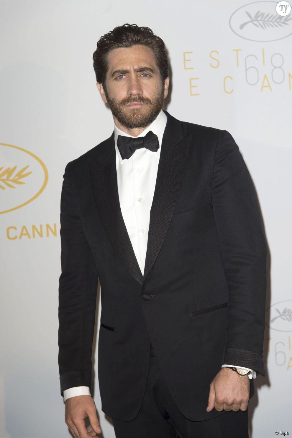 Jake Gyllenhaal lors de la cérémonie d'ouverture du Festival de Cannes 2015 le 13 mai 2015