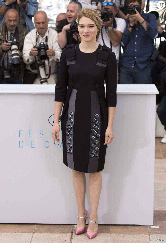 Léa Seydoux au photocall du film The Lobster au Festival de Cannes 2015 le 15 mai 2015