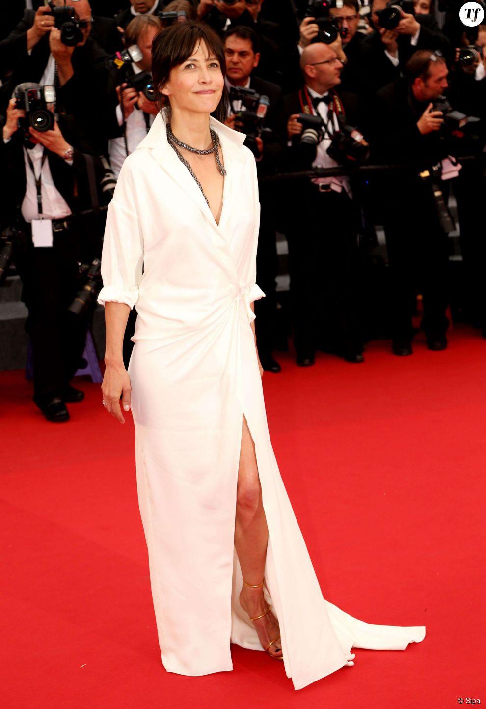 Sophie Marceau à la première de Mad Max le 14 mai au festival de Cannes 2015