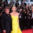 Charlize Theron et Sean Penn à la première de Mad Max au Festival de Cannes 2015 le 14 mai