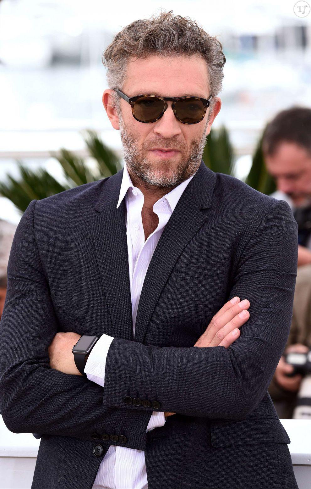 Vincent Cassel au photocall du film Tale of Tales au Festival de Cannes 2015 le 14 mai