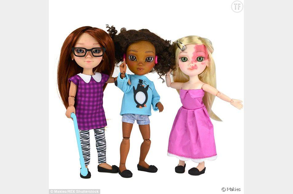 La compagnie britannique propose trois modèles de poupées personnalisables.