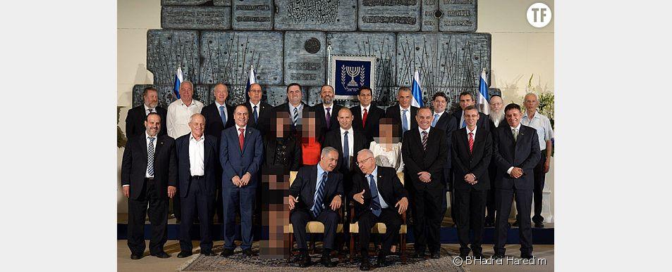 Un site efface les femmes ministres du nouveau gouvernement israélien