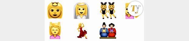 Emojis femmes