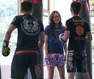Cette kickboxeuse prouve qu'il ne faut jamais juger une femme sur son apparence