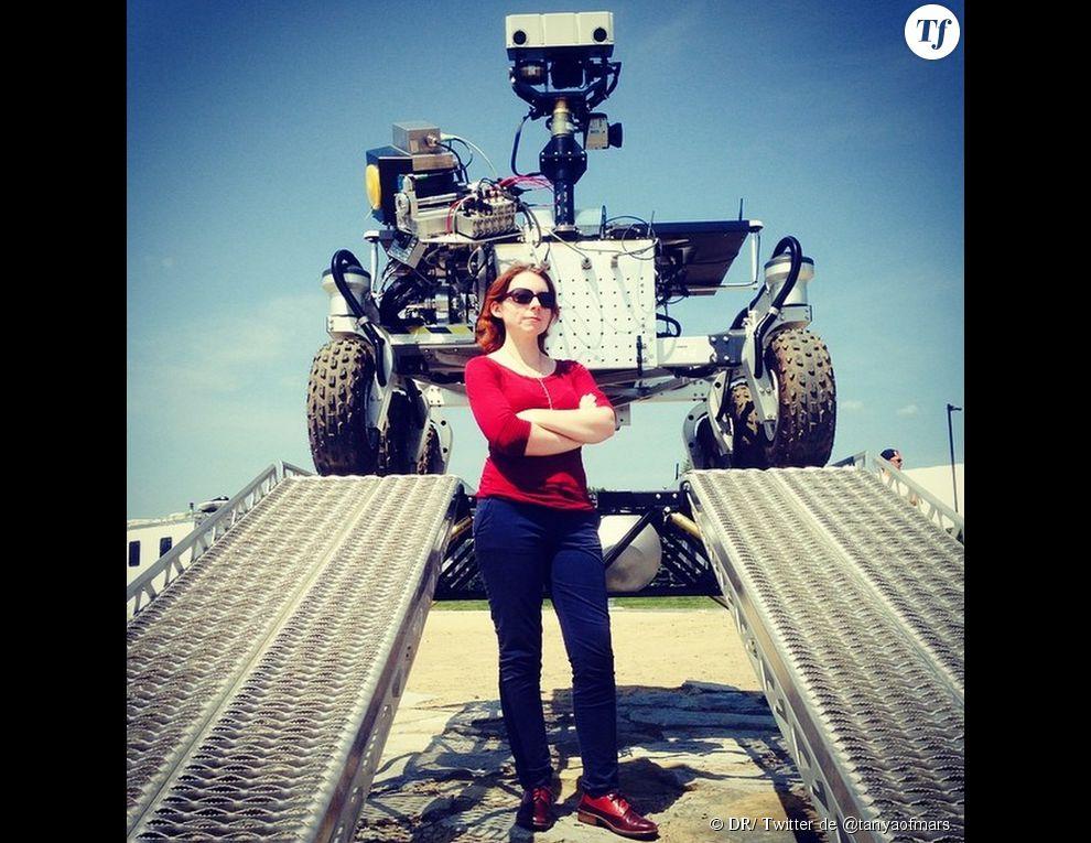 Tanya Harrison et son rover