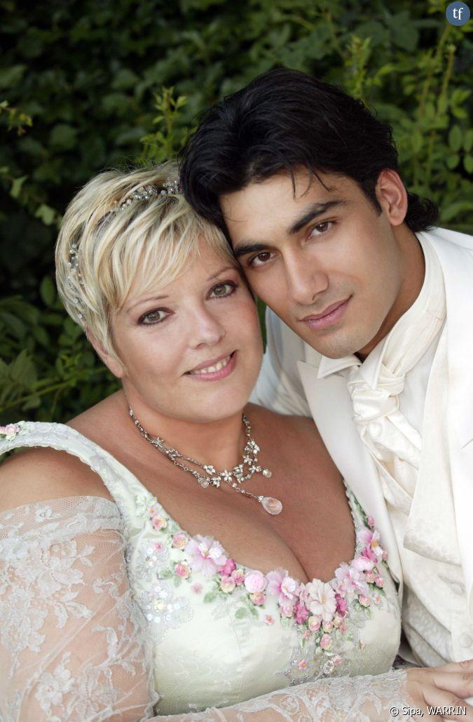 Laurence boccolini et son mari micka l le jour de leur mariage - Valerie damidot et son mari ...
