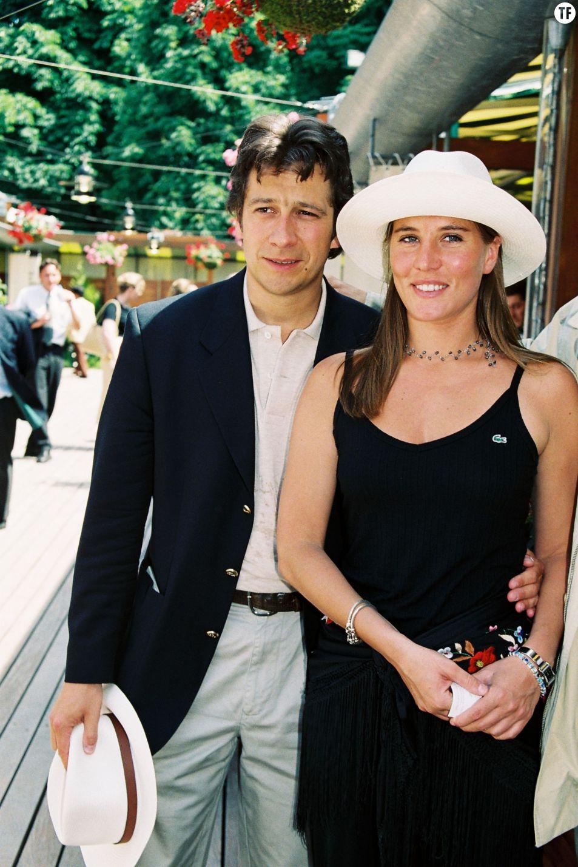 Mathilde Seigner et Laurent Gerra en 1999
