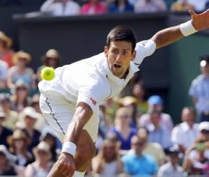 Novac Djokovic à Wimbledon en 2015