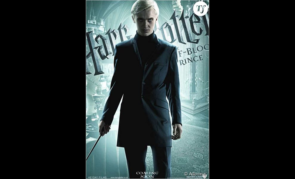 Drago Malefoy incarné par Tom Felton. L'ennemi juré d'Harry Potter.