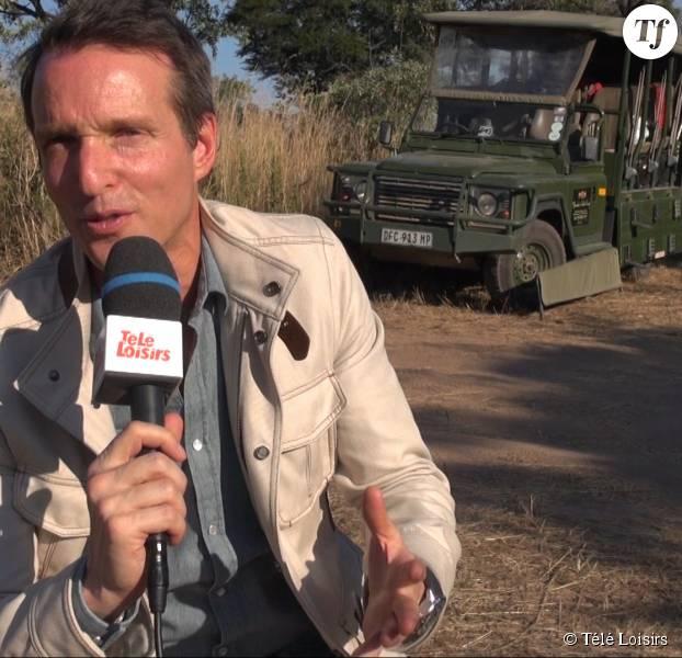 """Stéphane Rotenberg sur le tournage de """"Qui est la taupe ?"""""""