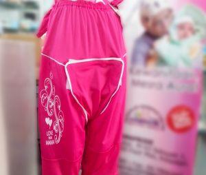 En Malaisie, un pantalon pour que les femmes accouchent habillées