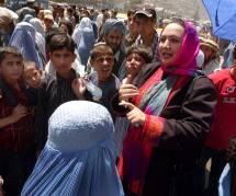 Shukria Barakzai, la députée afghane qui a mis la pâtée à son goujat d'ex-mari