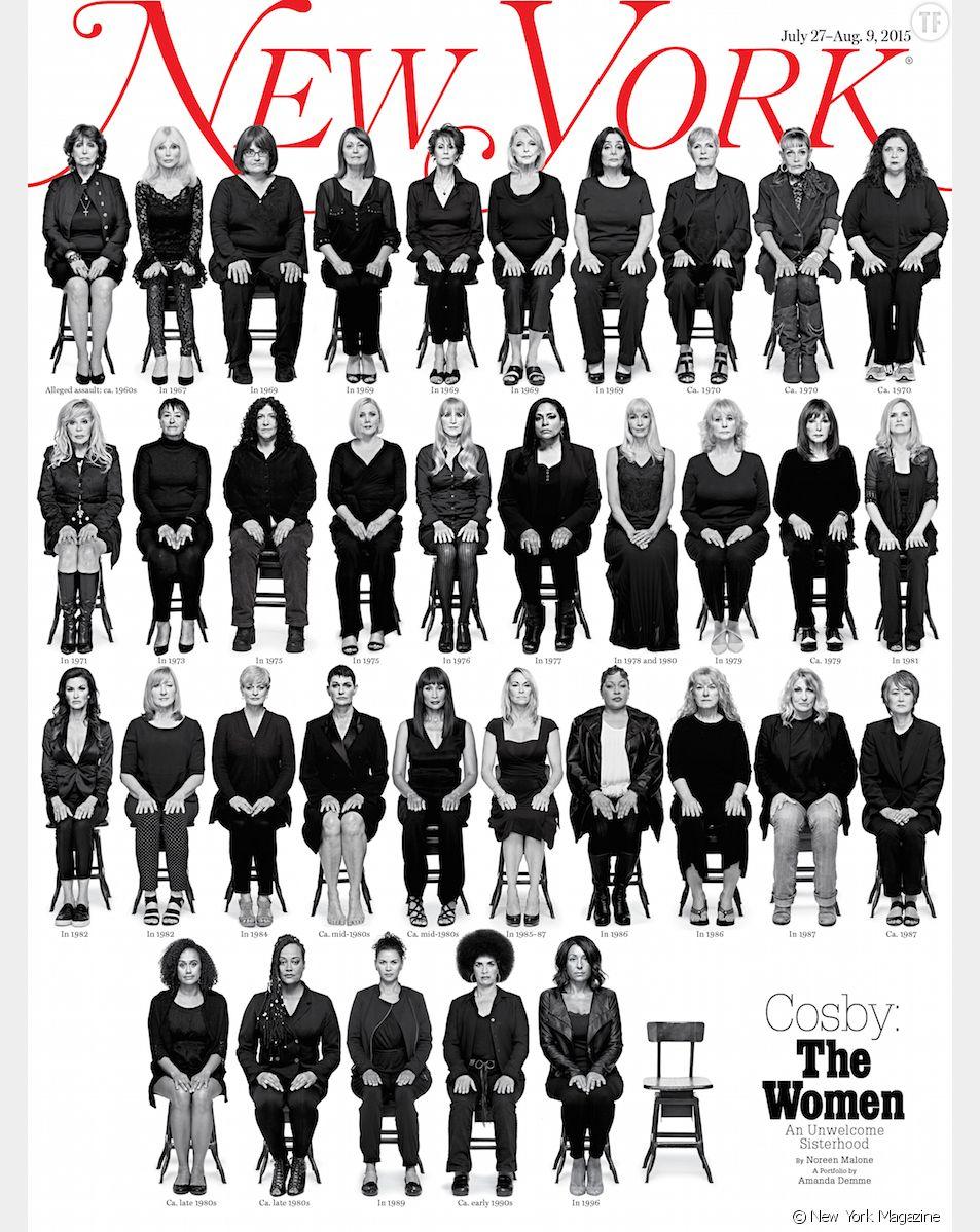 Les 35 femmes femmes qui accusent Bill Cosby d'abus sexuels