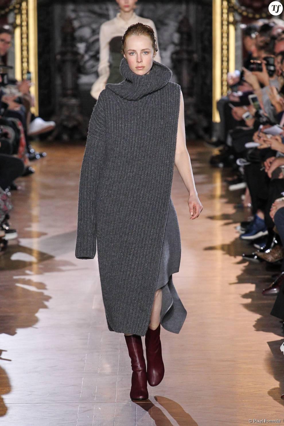 Robe en maille au défilé Stella McCartney prêt,à,porter automne,hiver 2015