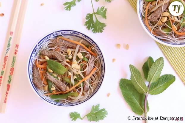 Voyagez un peu avec cette recette de Yam Nua !