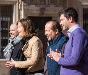 Le nouveau jury et Sandrine Quétier seront bien entendu au rendez-vous de la suite du concours culinaire.