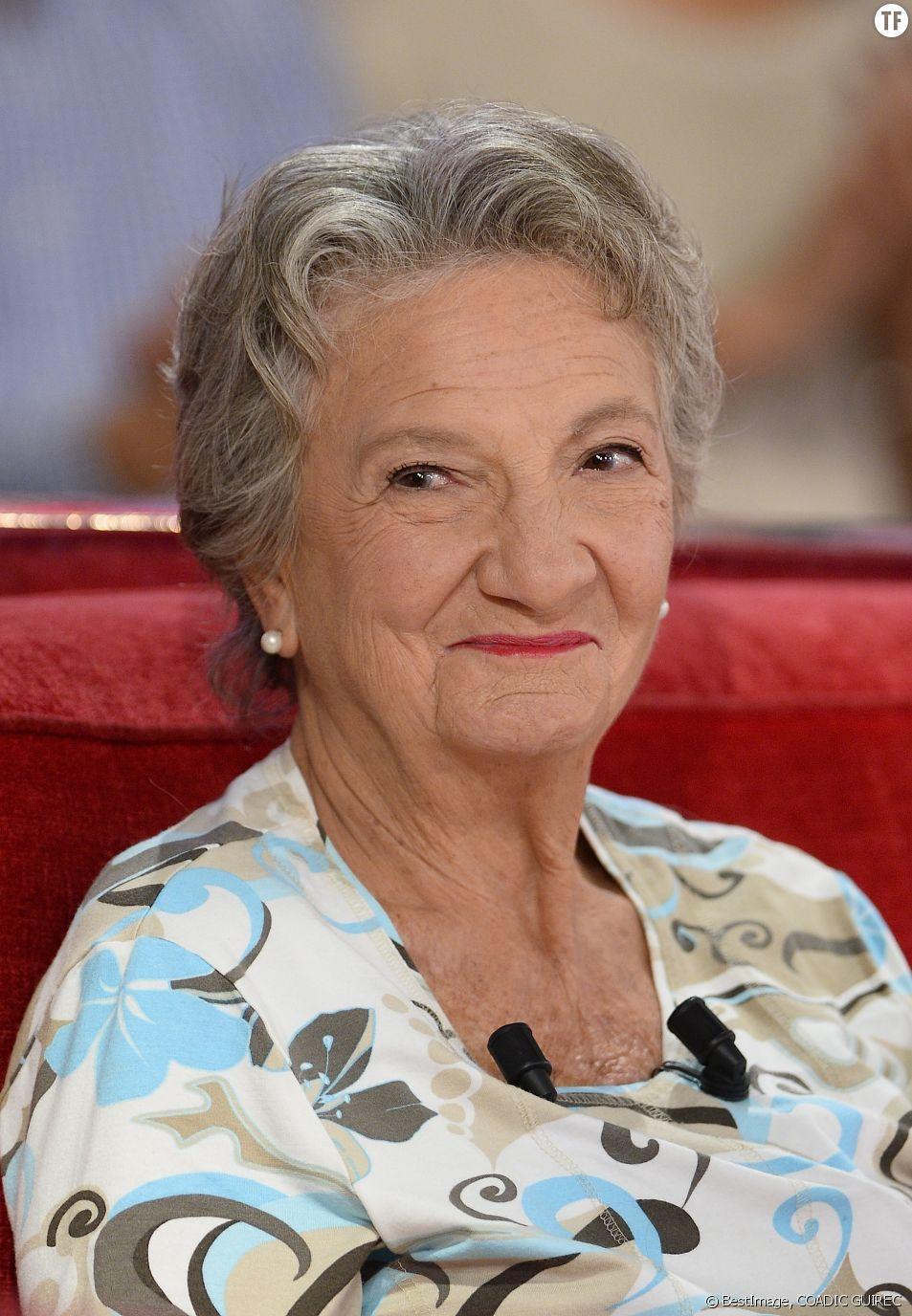 La comédienne Marthe Villalonga