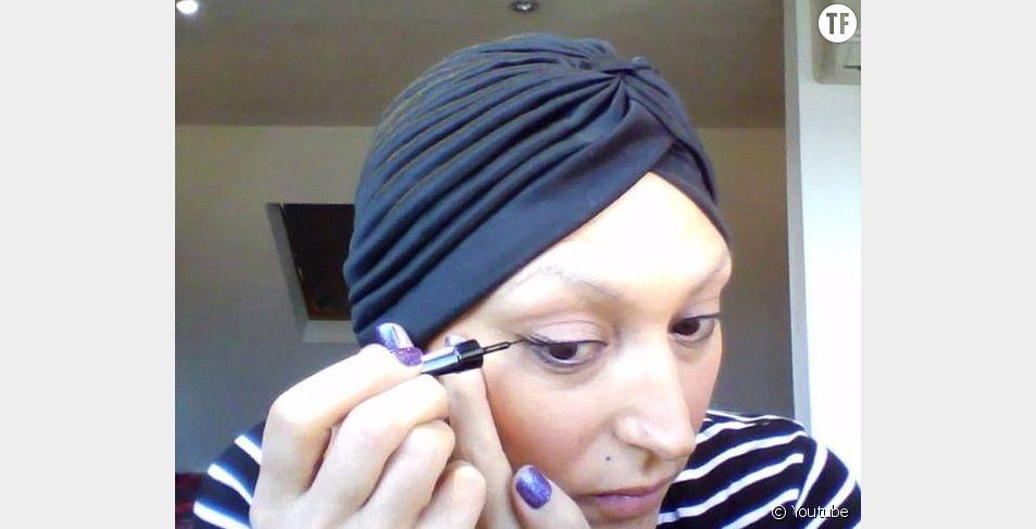Maquillage, coiffure, Andrea Pellegrini utilise son expertise personnelle pour aider les autres malades du cancer à se sentir jolies.