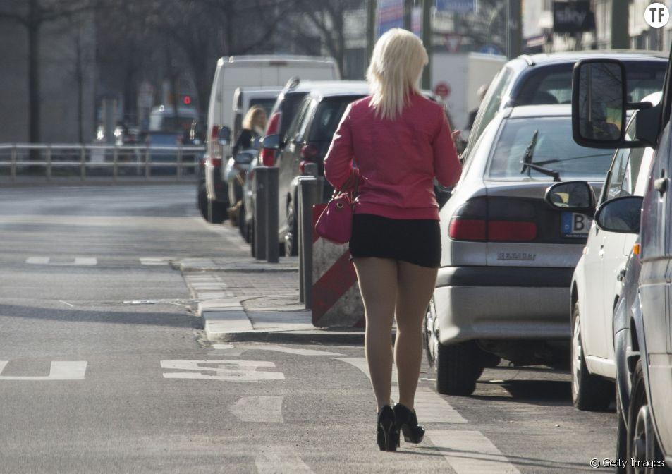 Une prostituée en Allemagne