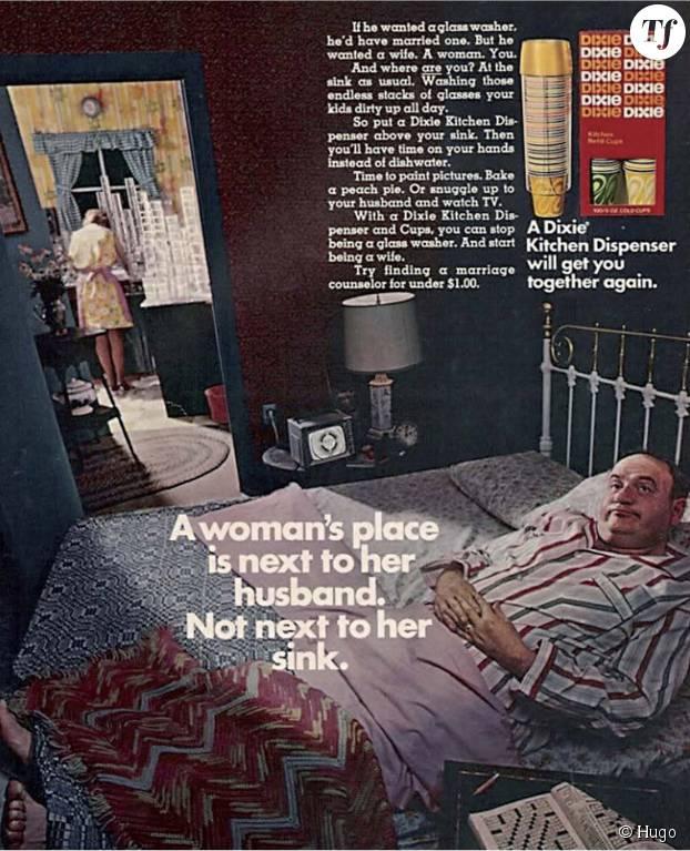 La place d'une femme est à côté de son mari et non à côté de l'évier