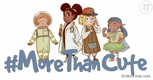Le dessin de la campagne More than cute