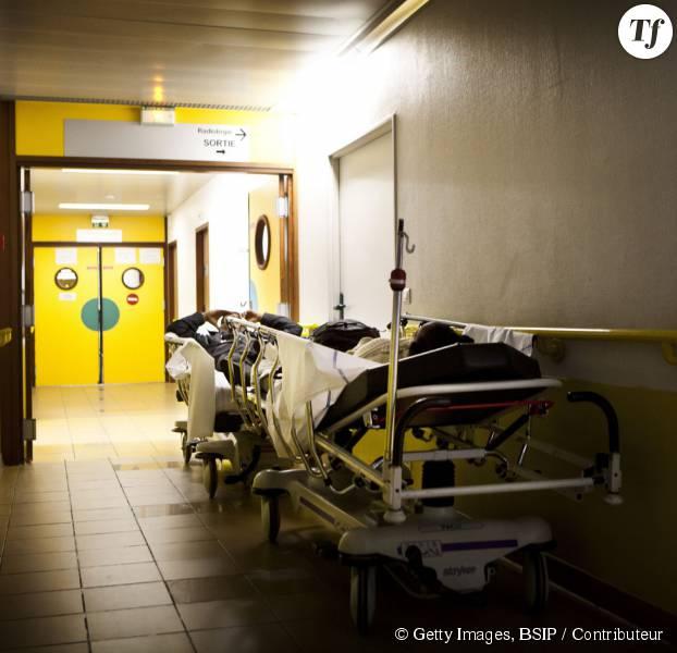 Une chambre d'hôpital en France