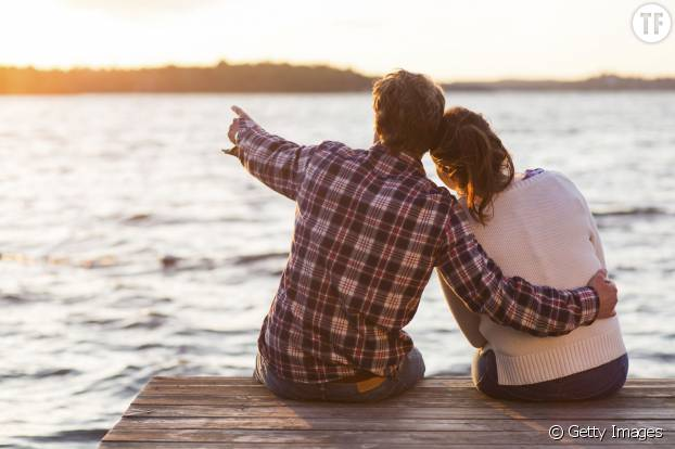 Des moments de tendresse en amoureux