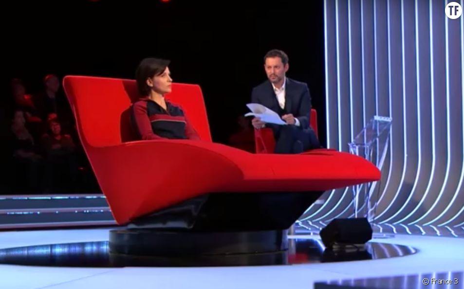Juliette Binoche dans Le divan de Marc-Olivier Fogiel