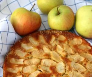 La recette du gâteau invisible aux pommes
