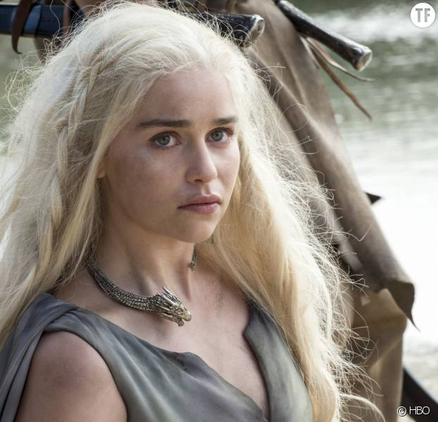 Daenerys et son dragon dans la saison 6 de Game of Thrones