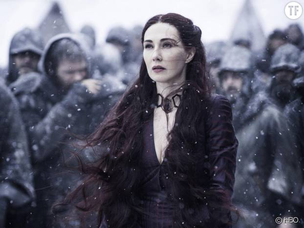 Melisandre dans la saison 6 de Game of Thrones