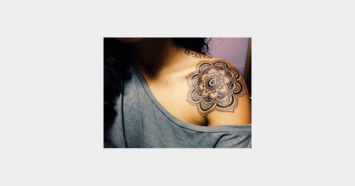 Tatuage De Mandala Sur L Epaule Terrafemina