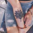 Tatouage de mandala sur l'avant-bras
