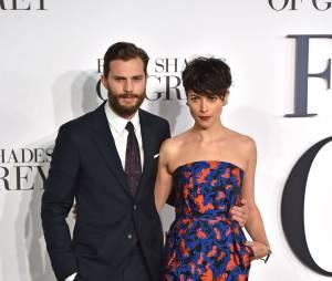 Jamie Dornan : sortie en amoureux avec sa femme Amelia Warner au concert de Rihanna (photos)