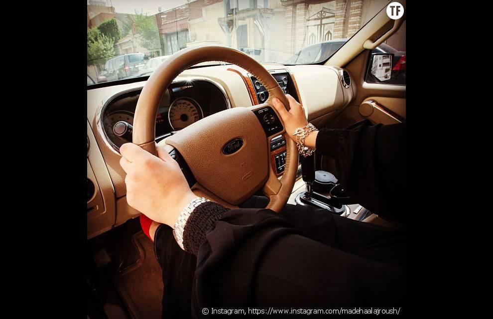 Une photo Instagram de Madeha Al-Ajroush, psychologue et militante pour les droits des femmes en Arabie Saoudite