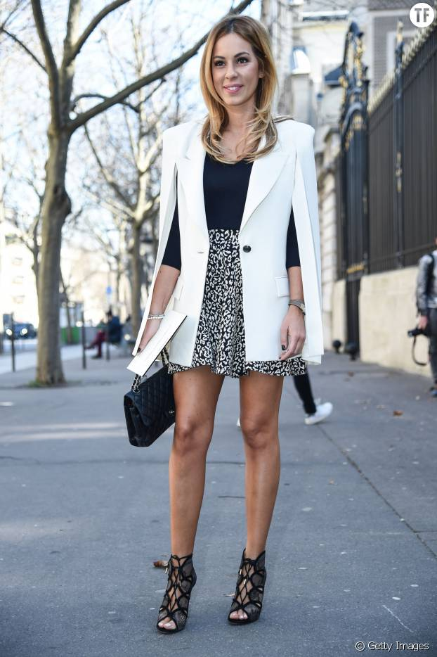 "Le ""blazer-cape"", un it tendance."