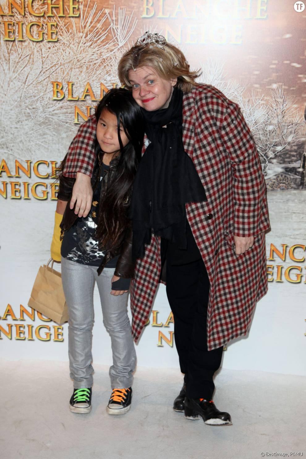 Isabelle Nanty et sa fille Tallulah en 2012